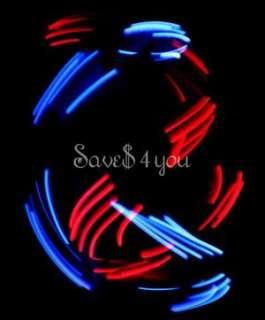 Multi Color 6 Function LED Light Show RAVE Gloves Set