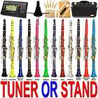 Flat Bb Clarinet Lazarro~FREE STAND or TUNER+12 REEDS,CASE,CARE KIT