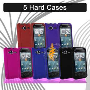 Hard Rubber Skin Case Cover Sprint HTC EVO Shift 4G