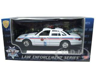 Brand new 124 scale diecast model of 1998 Ford Crown Victoria