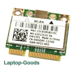 Dell Inspiron N5010 Wireless Wifi WLAN Card WHDPC DW1501 BCM94313HMQ2L