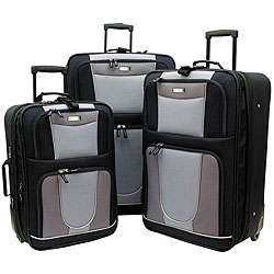 Geoffrey Beene Carnegie 3 piece Expandable Luggage Set
