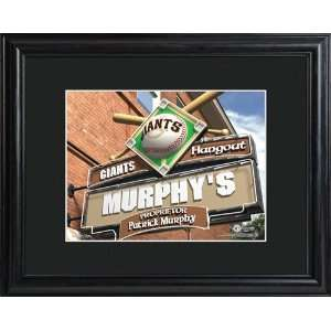 Personalized San Francisco Giants Pub Sign Everything