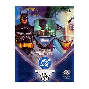 DC TCG Batman Vs. Joker 2 Player Starter Set Toys & Games