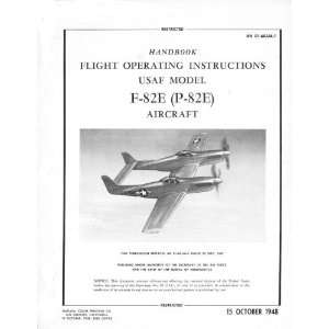 82 Aircraft Flight Manual North American Aviation  Books