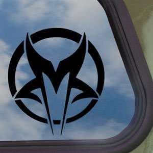 Mudvayne Black Decal Metal Rock Band Truck Window Sticker