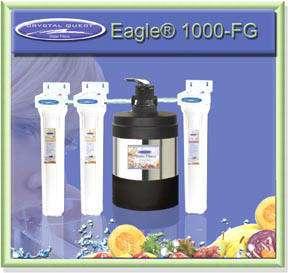 CRYSTAL QUEST Mid Size House Water Filter CQE WH 02100