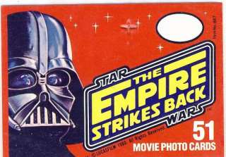 TOPPS STAR WARS EMPIRE STRIKES BACK PROMO HEADER CARD
