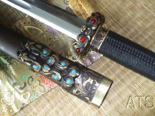 High Quality Chinese Folded Steel Sword Qin Jian