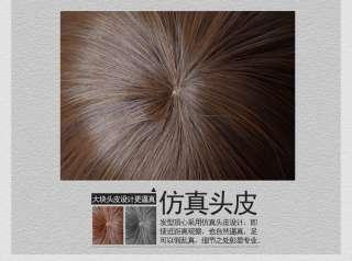 Real feel Short brown BOB Kanekalon custumes hair wig