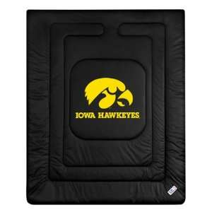 Iowa Hawkeyes Locker Room Full/Queen Bed Comforter (86x86