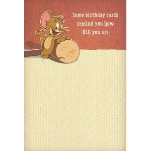 Greeting Card Birthday Tom and Jerry Some Birthday Cards