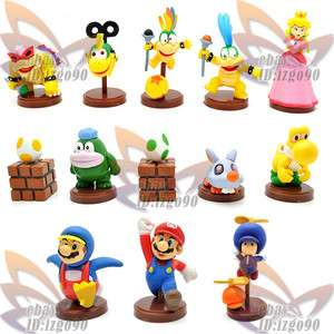 Super Mario Bros New Figure Toy 13PCS MS555