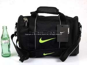Nike Misc (Male) Team Training Small Duffle Gym Bag Black/Green BZ9308