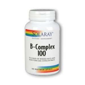 B Complex 100 100 Caps, 100 mg   Solaray Health