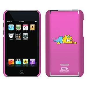 Maggie Simpson on iPod Touch 2G 3G CoZip Case Electronics