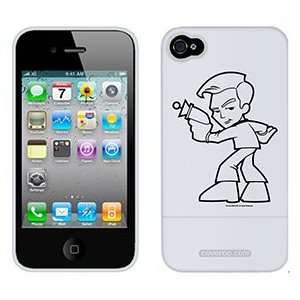 Star Trek Stylized Kirk on AT&T iPhone 4 Case by Coveroo