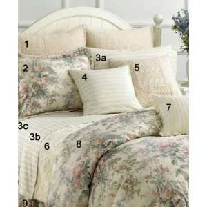 Ralph Lauren Winter Garden Queen Flat Sheet Lace  Home