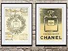 Old VINTAGE CHANEL NO.5 FRENCH ART DECO Photo print LIVING ROOM