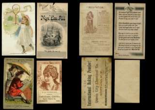 Dealer Lot 11 Victorian Antique Trade cards