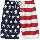 Patriotic Mens Flag American Flag Trunks USA Board Shorts New Swimming