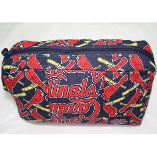 St. Louis Cardinals MLB Fabric Cosmetic Bag Purse  Forever