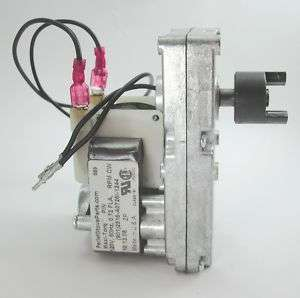 CUP FEEDER MOTOR for EARTH STOVE PELLET STOVE   1.2 RPM