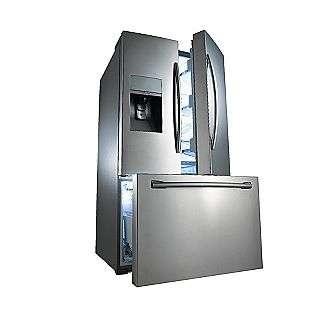 Door Refrigerator   Stainless Steel  Samsung Appliances Refrigerators