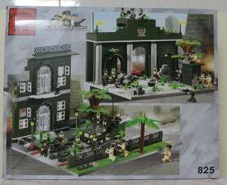 EN825 Enlighten Blocks Toy   Combat Zones Series   Headquarters