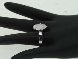 14K LADIES WHITE GOLD 2 CT DIAMOND ROUND SHAPE SOLITAIRE ENGAGEMENT
