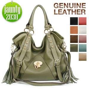 New GENUINE LEATHER purses handbags HOBO TOTES SHOULDER Bag[WB1051