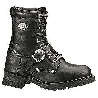 Mens Faded Glory Work Boot   Black  Harley Davidson Shoes Mens Work