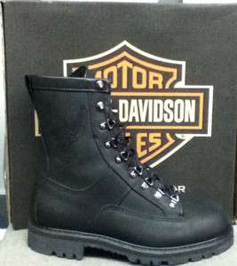 Harley Davidson 95109 Walter Mens Riding Boots NEW w/ BOX