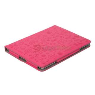 Little Witch Leather Smart Case Cover Stand for iPad 2 Pink