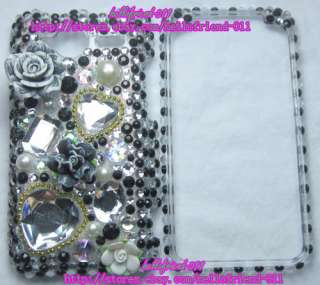 New Rhinestone BLing Full Case for HTC EVO Shift 4G #2