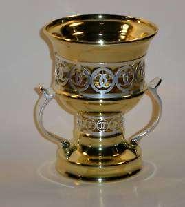 Incense Burner / Mubkhara   Gold Silver Arabic style