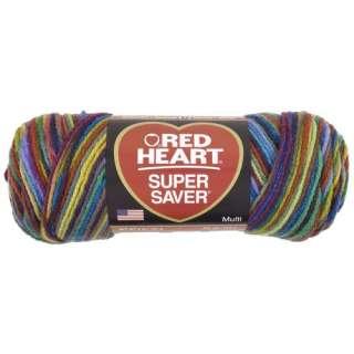Red Heart Super Saver Yarn, 964 Primary, 5 oz Crafts