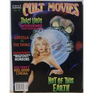 Cult Movies magazine #39 Traci Lords: Micheal Copner: Books
