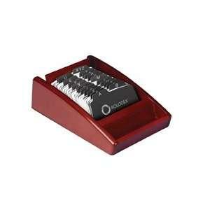 Rolodex Wood Tones Mahogany Business Card Tray (1734240