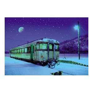 com Jigsaw Puzzle, Snowy Station,not the Polar Express Toys & Games