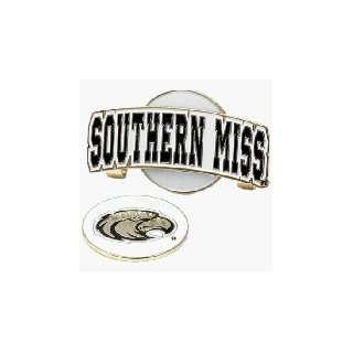 Miss Golden Eagles Hat Clip & Golf Ball Marker Sports & Outdoors