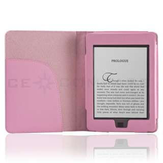Leather Folio Cover Case Pouch for  Kindle Touch 4 4th 3G
