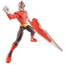 Power Rangers Samurai 4 inch Action Figure   Fire   Bandai   Toys R