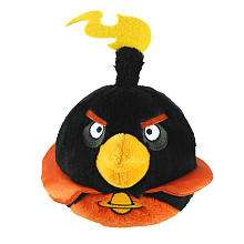 Birds 5 Inch Space Plush   Black   Commonwealth Toys