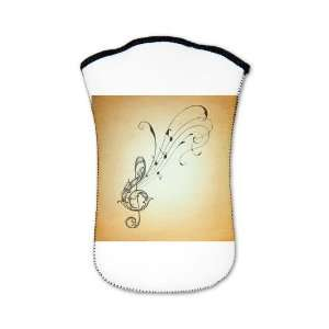 Nook Sleeve Case (2 Sided) Treble Clef Music Notes