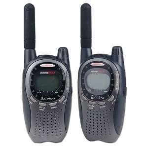 Cobra Electronics PR1100 2 Way FRS/GMRS Radio Set (2pc) Electronics
