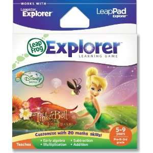 LeapFrog Explorer Learning Game Disney Fairies Tinker Bell and the