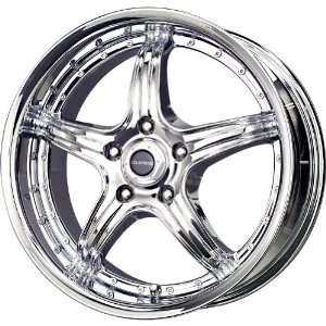 Liquid Metal Wingman Chrome Wheel (15x7/4x100mm