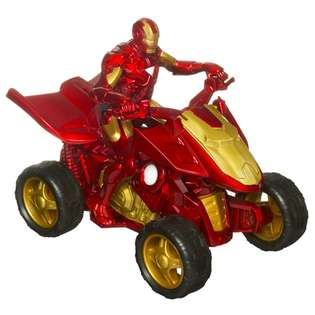 Hasbro Iron Man 2 Iron Racers   Quantum Quad
