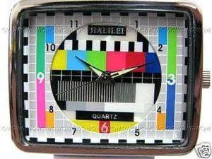 Mens TV Logo Fashion Quartz Watch Watches For W098